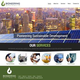 Bioneering Australia - LloydWeb Portfolio