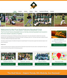 Five Dock Falcons Baseball Club