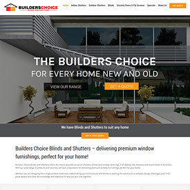 Builders Choice Blinds and Shutters - LloydWeb Portfolio Therese Lloyd