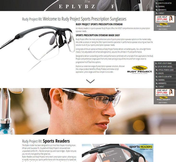 Rudy Project Sports Prescription Sunglasses